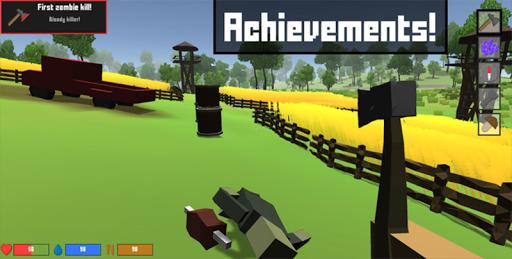 Pixel Block Survival Craft screenshot 21