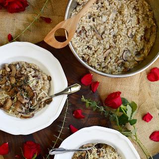 Black Truffle Mushroom Risotto