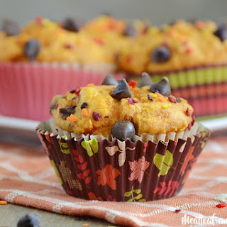 Easy Pumpkin Chocolate Chip Muffins Recipe