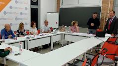 Un momento en la reunión celebrada en la UAL.