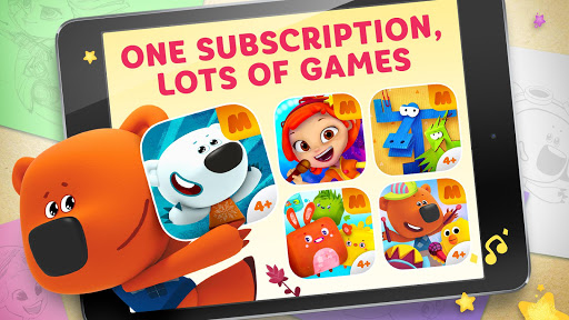 Be-be-bears - Creative world apkpoly screenshots 1