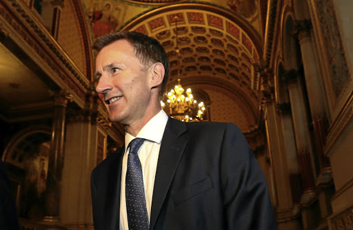 Newly appointed UK Foreign Secretary Jeremy Hunt arrives at the Foreign Office in central London on July 9 2018. Picture: REUTERS