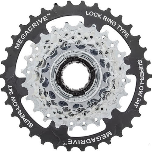 Sun Race MF-M4S 7-Speed Freewheel 13-34t