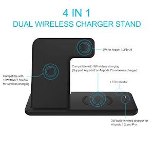 Incarcator Wireless Fast Charge 15 W