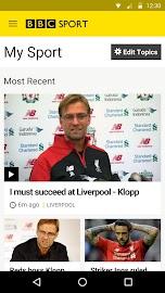BBC Sport Screenshot 1