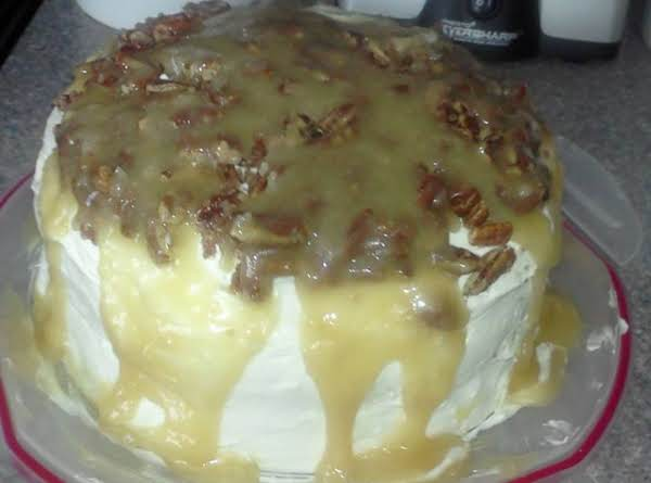 Decadent Salted Caramel Apple Spice Cake Recipe
