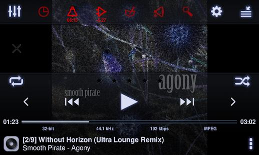 Neutron Music Player Screenshot