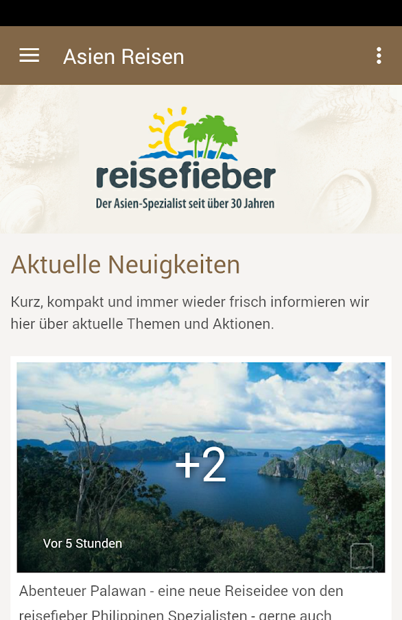 Reisefieber Reisen- screenshot