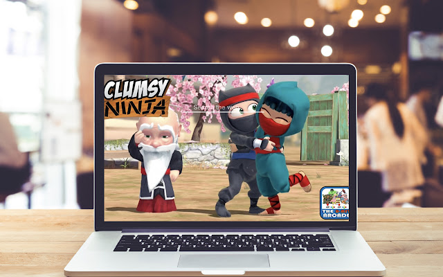 Clumsy Ninja HD Wallpapers Game Theme