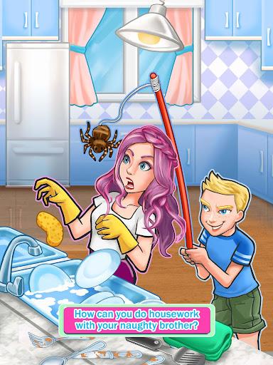 Siblings War - Cleaning Day 1.3 screenshots 12
