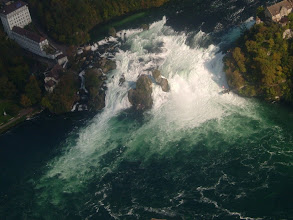 Photo: Another shot just above the waterfall http://www.swiss-flight.net
