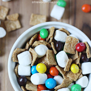 M&M'S Crispy S'mores Mix