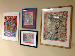 Photo: Les Sher Artwork at the Weissman Center in Delray Beach, Florida