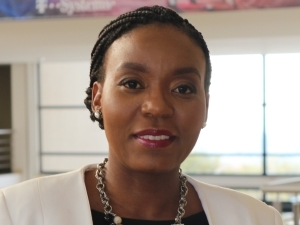 Dineo Molefe, MD of T-Systems South Africa.