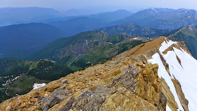 Photo: A view of the ridge from the top