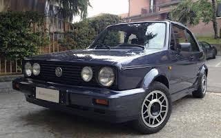 Volkswagen Golf Karmann Cabriolet Mk1 Rent Emilia-Romagna