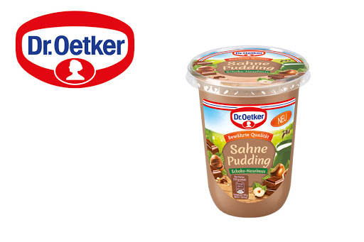 Bild für Cashback-Angebot: Dr. Oetker Sahne Pudding Schoko-Haselnuss (500g) - Dr.Oetker