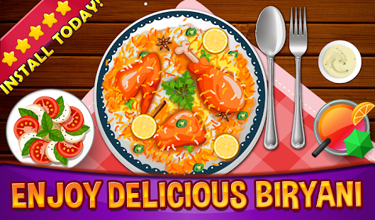 Biryani-kids Cooking Games - náhled