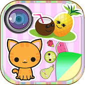Kawaii Stickers Photo Editor
