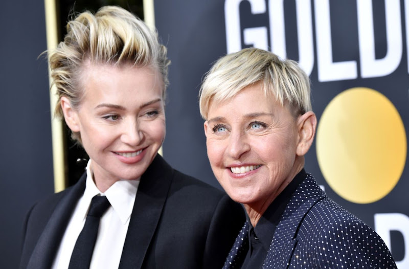 Ellen DeGeneres' wife Portia breaks silence following scandal