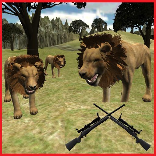 獅子狩獵大屠殺3D 冒險 App LOGO-APP試玩