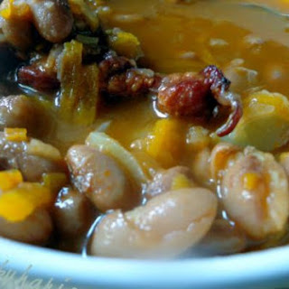 Croatian Bean Stew with Smoked Pork Ribs Recipe