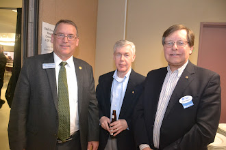 Photo: Society Past-President and DL Bill Bahnfleth, Chris Frauley (PP), Mike Swayne (PP)