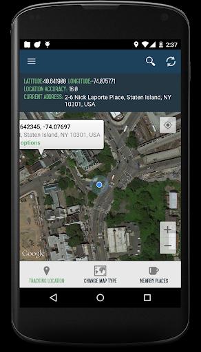 我的位置  GPS地图