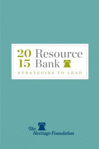 2015 Heritage Resource Bank