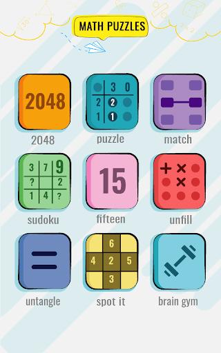 Math Puzzles game - Brain Training Math Games 🧠 screenshot 12