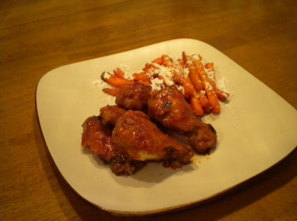 Oven Fried Barbq Chicken Wings Recipe