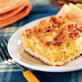 Bacon, Egg and Hash Brown Biscuit Bake.