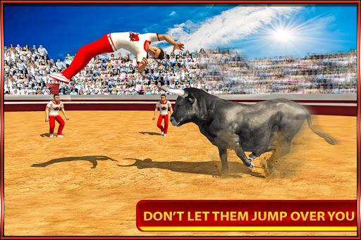 3D Angry Bull Attack Simulator