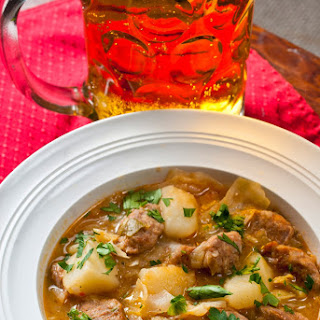 Beer and Bratwurst Stew
