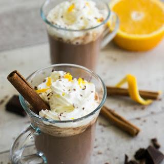 Cointreau Orange Hot Chocolate.