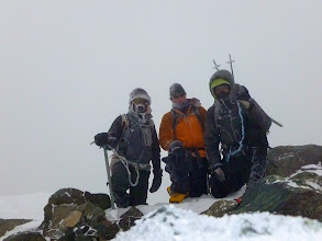 Photo: On the summit of Blanca Peak, 3:09pm