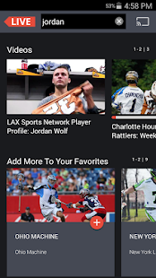 Lax Sports Network - náhled