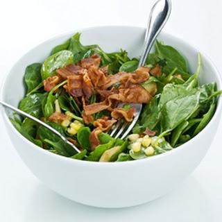 RecipeWarm Turkey Bacon-Spinach Salad