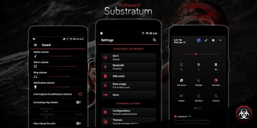 Biohazard Substratum Theme v3.2 [Patched]