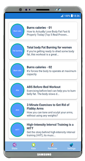Home Workouts - For Men & Women for PC