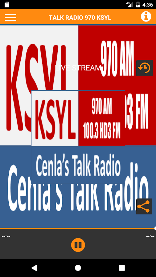 KSYL Talkradio- screenshot
