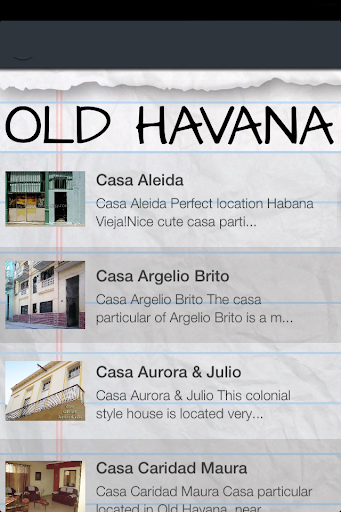 【免費旅遊App】Cuba Casa Directory-APP點子