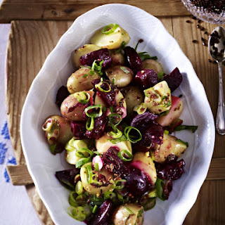 Potato and Baby Beet Salad