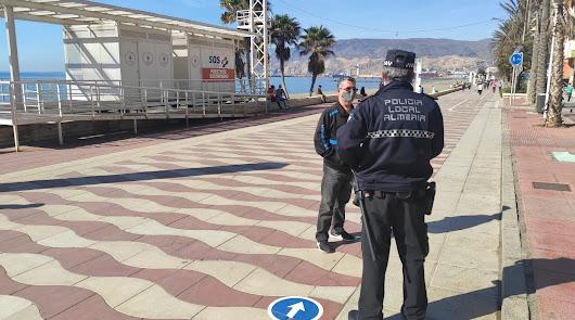 Una mujer desaparecida es localizada en el Paseo Marítimo por la Policía Local