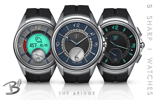 Download The Bridge - Luxury face for smart watches MOD APK 7