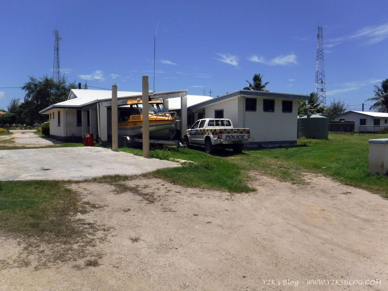 Uffici della polizia e della dogana di Pangai - Ha'apai