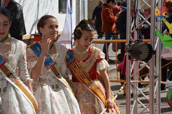 Visita Fallera Mayor Infantil