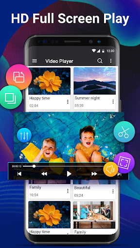 Video Player Pro - Full HD & All Formats& 4K Video 1.2.0 screenshots 2