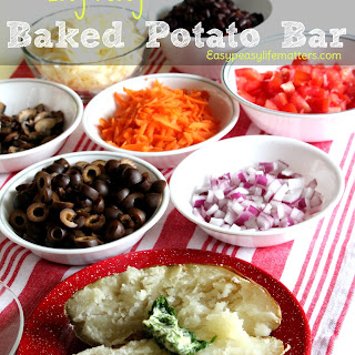 Easy Peasy Baked Potato Bar