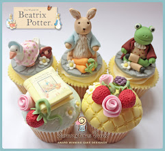 Photo: Beatrix Potter Collection by Scrumptious Buns (6/12/2012) View cake details here: http://cakesdecor.com/cakes/18320
